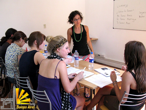 ... Spanish courses in Buenos Aires in Argentina, Learn Spanish in Argentina,  Spanish language school